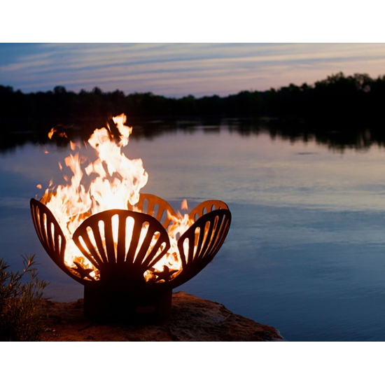 Barefoot Beach Wood Burning Fire Pit 42 Inch