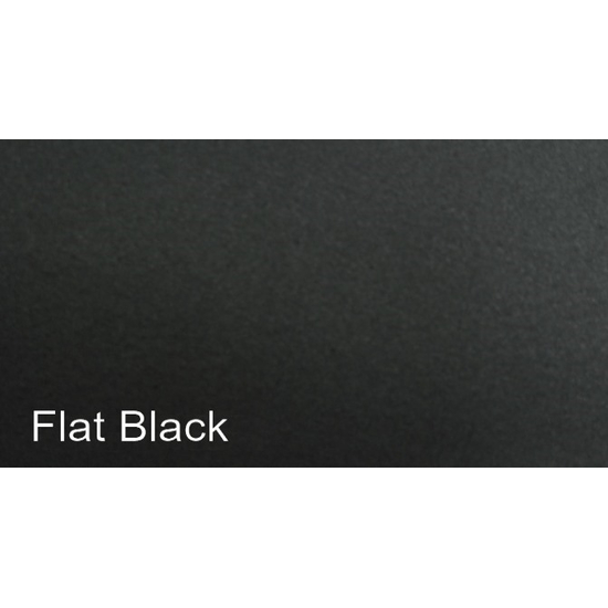 The Hearthfire masonry fireplace door comes standard in a Flat Black finish