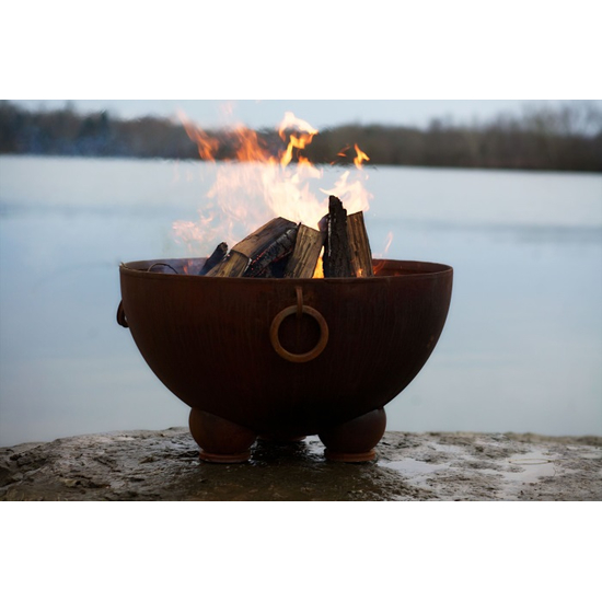 Nepal Wood Burning Fire Pit 41 Inches