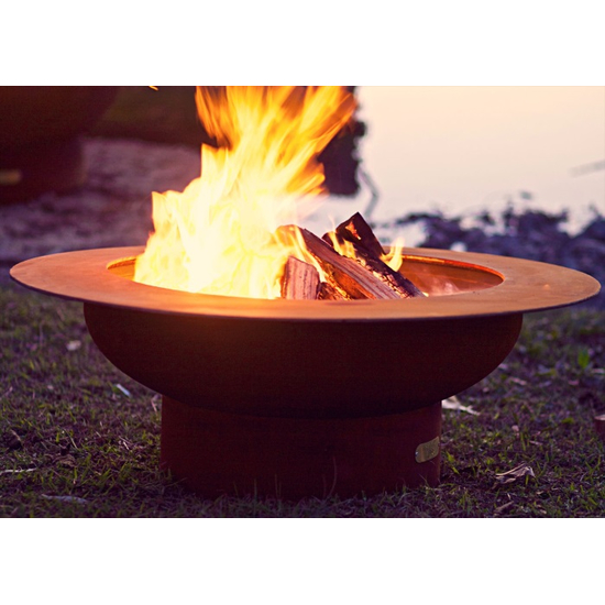 Saturn Wood Burning Fire Pit 40 Inches