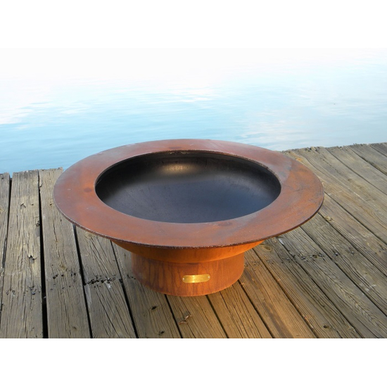 Inner bowl coated for high-temperature resistance
