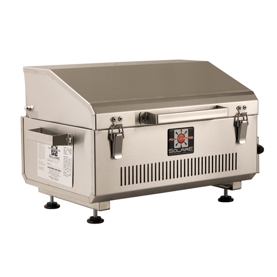 Solaire Anywhere Marine Grade Portable Infrared Gas Grill