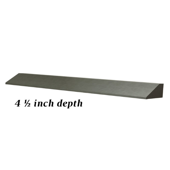 39 Inches Fireplace Heat Deflector Shield Hood