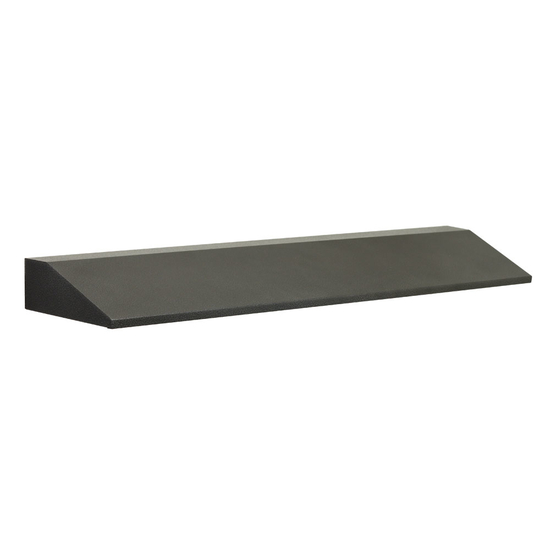47 Inch Fireplace Hood In Charcoal Finish