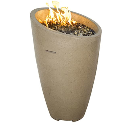 Eclipse Fire Urn by American Fyre Designs shown in smoke