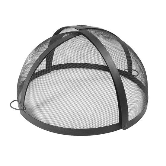 Round Stainless Steel Pivot Fire Pit Screen