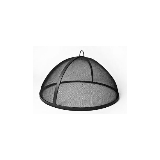 Fire Pit Screen Stainless Steel Dome Style No Hinge