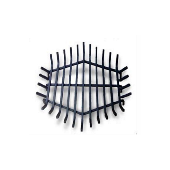 33 Inch Hexagon Carbon Steel Fire Pit Grate