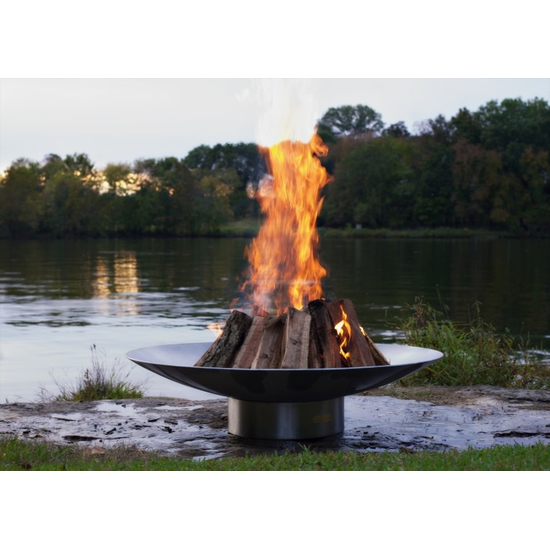 Bella Vita Wood Burning Fire Pit 34 Inches