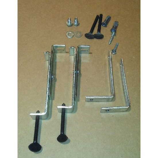 Incredible Standard Lintel Clamp Kit With End Brackets Beutiful Home Inspiration Ommitmahrainfo