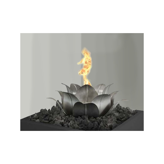 Lotus Fire Pit ornament for your fire pit, lava rock and Fire bowl not included