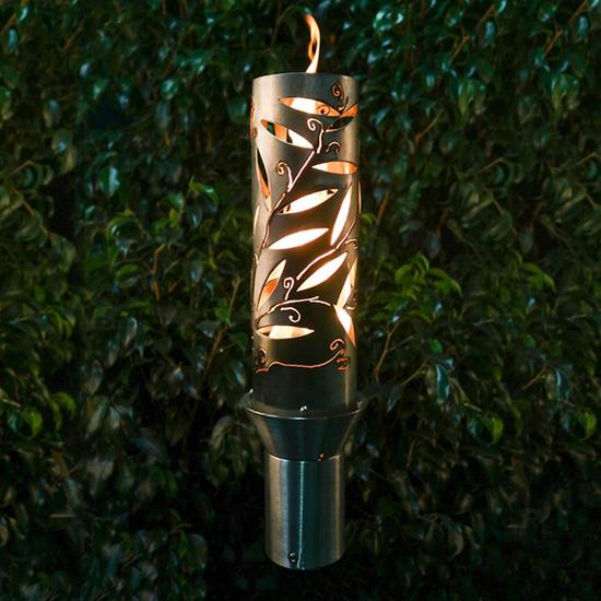 Havana Style Stainless Steel Tiki Torch