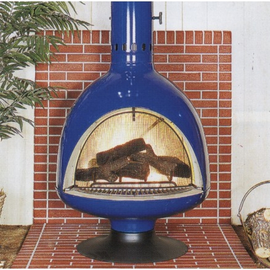 """32"""" Malm Fire Drum 3 Wood Burning Fireplace"""