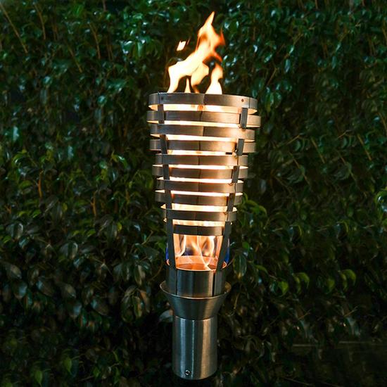 Hercules Stainless Steel Tiki Torch