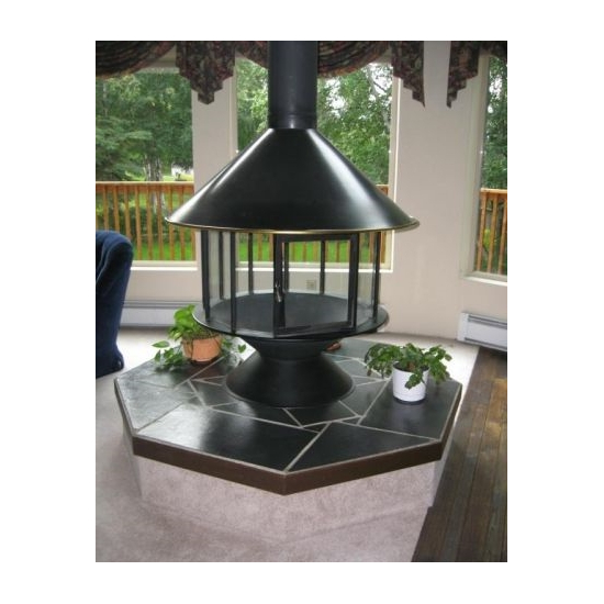 Malm Imperial Carousel Fireplace