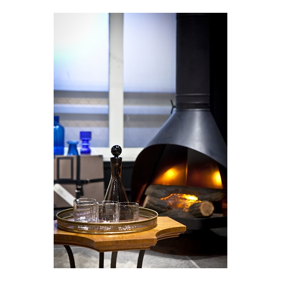 Fantastic 38 Inch Zircon Matte Black Wood Fireplace Home Interior And Landscaping Ymoonbapapsignezvosmurscom