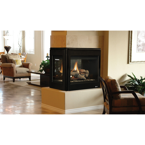 Superior DRT40PF Multi View Direct Vent Gas Burning Fireplace