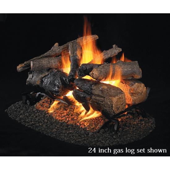 Real Fyre Vented Gas Log Set