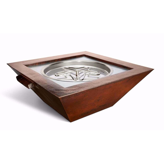 Sedona Copper Fire and Watter Bowl 40 Inch Square
