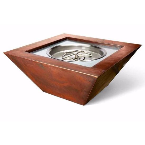 Sedona Copper Fire Bowl 40 Inch Square