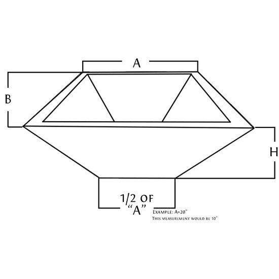 stainless steel square fire bowl diagram