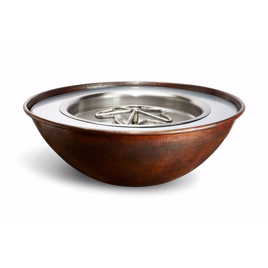 Tempe Copper Fire Bowl 31 Inch Round