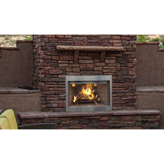 Superior WRE3036 wood outdoor fireplace