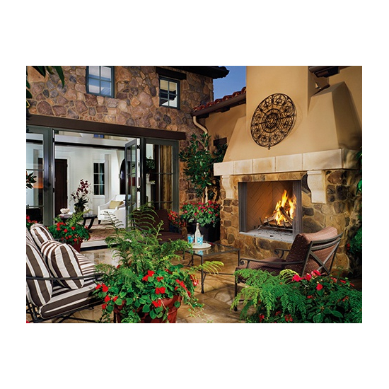Superior WRE4550 outdoor wood fireplace set