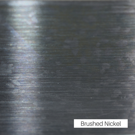 Brushed Nickel Finish