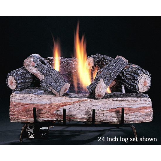 Original Chillbuster Reduced Depth Ventless Gas Log Set