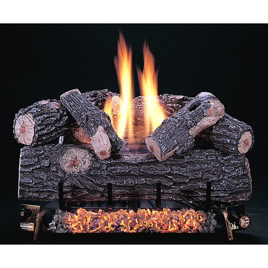 A beautiful creation by Rasmussen, these ultra real gas logs are gorgeous and last practically forever!