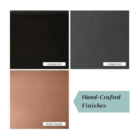 Handcrafted finishes for steel Design Specialties tool sets
