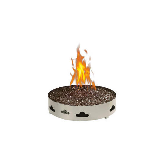 Patioflame Gas Fire Pit With Glass