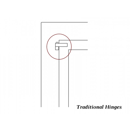 Traditional hinge style