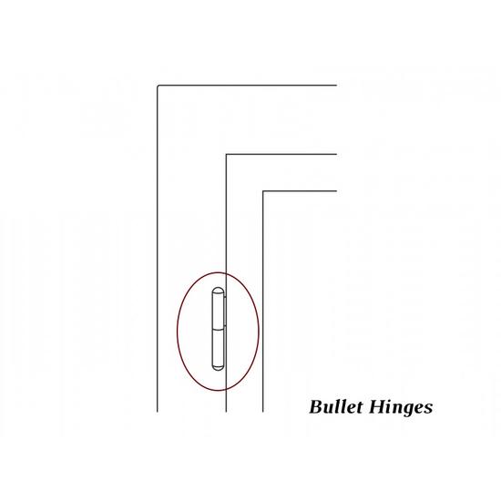 Bullet hinge detail