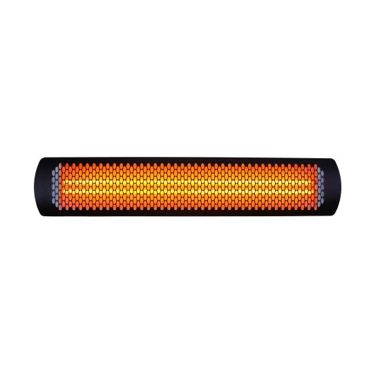Bromic 4000W Tungsten Smart Heat Electric Heater Black