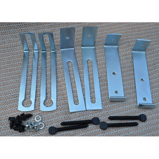 4 Inch Standard Lintel Clamp Kit With End Brackets