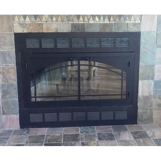 Carolina Inside Fit Fireplace Door