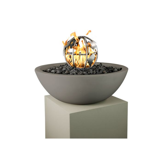 Fire Globe Stainless Steel Fire Pit Ornament