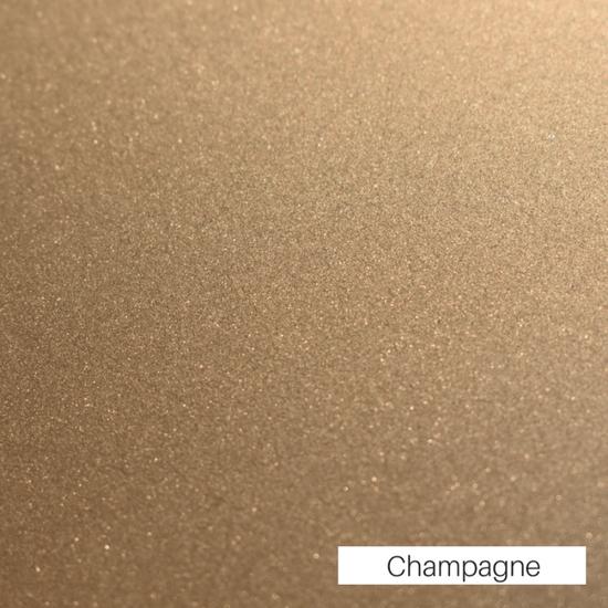 The Mallard Pond decorative design is finished in Champagne powder coat.