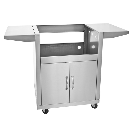 "Required 25"" stainless steel cart for Blaze 3 grill head"