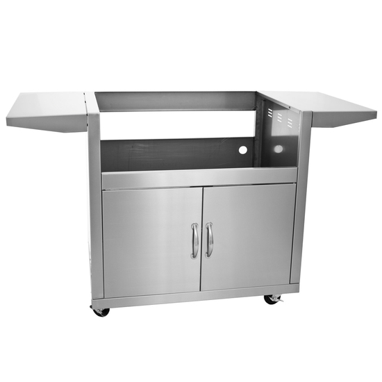 "Required 32"" stainless steel cart for Blaze 4 grill head"