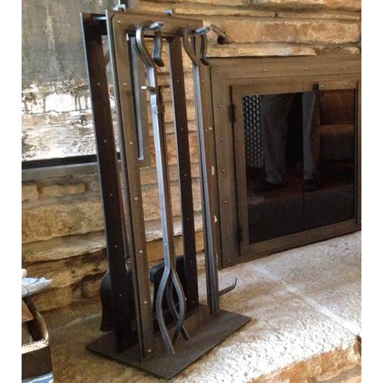 Black Rock Fireplace Tool Set