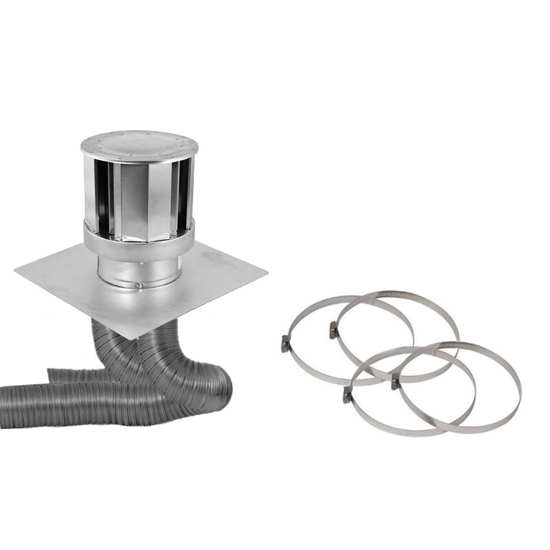 3 X 3 Inch Colinear Direct Vent System High Wind