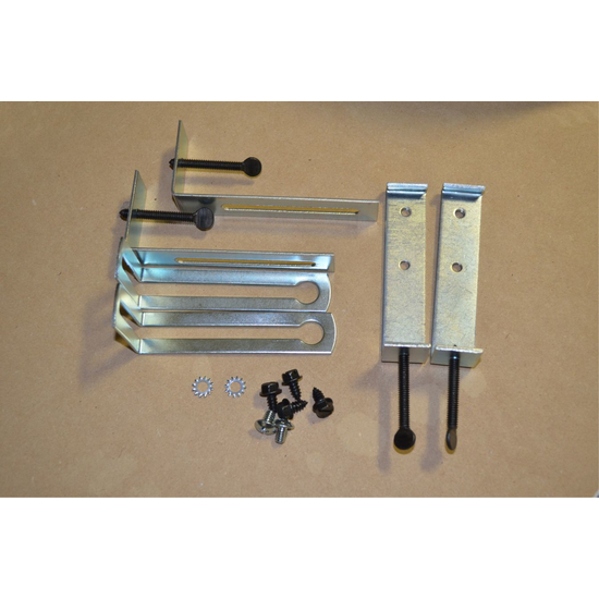 Lintel Clamp Kit 4-6 Inch Adjustable With Bottom Bracket