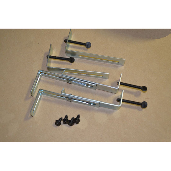 Lintel Clamp Kit 4-6 Inch Adjustable With Bottom Bracket Assembled
