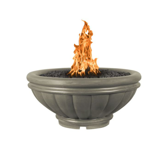 Roma Complete Round Concrete Fire Bowl Kit 37 Inch (shown in ash)