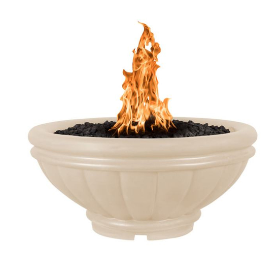 Roma fire bowl shown in vanilla
