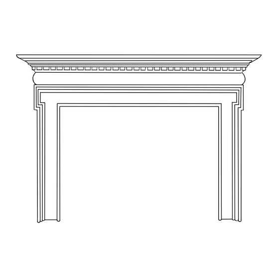 Belcourt Fireplace Wood Mantel