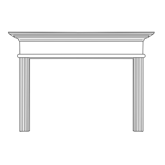 Cornelius Fireplace Wood Mantel